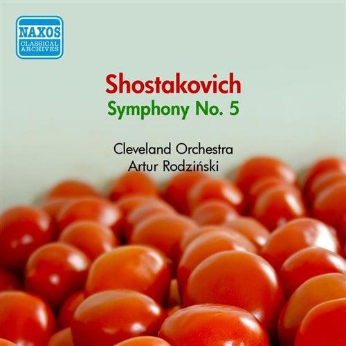 Shostakovich, D.: Symphony No. 5 (Cleveland Orchestra, Rodzinski) (1950) von Artur Rodzinski