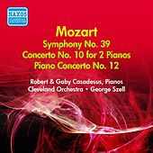 Mozart, W.A.: Symphony No. 39 / Concerto for 2 Pianos in E Flat Major / Piano Concerto No. 12 (Casadesus, Szell) (1947, 1955) de Various Artists