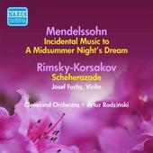 Mendelssohn: Midsummer Night's Dream (A) / Rimsky-Korsakov: Scheherazade (Rodzinski) (1941, 1939) by Various Artists