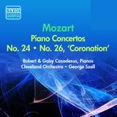 Mozart, W.A.: Piano Concertos Nos. 24, 26 (Casadesus) (1954) by George Szell