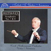 Beethoven: Symphonies No. 7 & 8 by Czech Philharmonic Orchestra