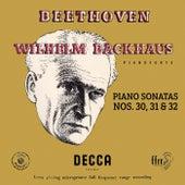 Beethoven: Piano Sonatas Nos. 30, 31 & 32 (Mono Version) de Wilhelm Backhaus