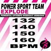 Explode (Powerful Uptempo Cardio, Fitness, Crossfit & Aerobics Workout Versions) by Power Sport Team