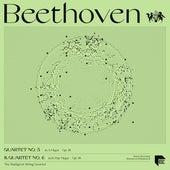 Beethoven: Quartets No. 5 in A Major, Op. 18 No. 5 & No. 6 in B-Flat Major, Op. 18 No. 6 by Budapest String Quartet