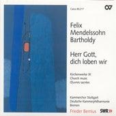 Mendelssohn, Felix: Church Music, Vol. 9 - Herr Gott, Dich Loben Wir / Kommt, Lasst Uns Anbeten by Various Artists