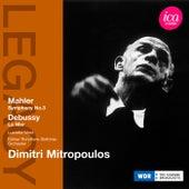 Mahler: Symphony No. 3 - Debussy: La mer by Dimitri Mitropoulos