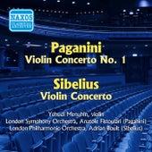 Paganini: Violin Concerto No. 1 / Sibelius: Violin Concerto (Menuhin) (1955) by Yehudi Menuhin