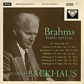 Brahms Recital / Mendelssohn by Wilhelm Backhaus