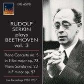 Rudolf Serkin plays Beethoven, Vol. 3 (1957-1958) von Rudolf Serkin