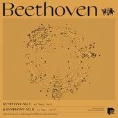 Beethoven: Symphonies No. 1 in C Major, Op. 21 & No. 8 in F Major, Op. 93 von Otto Klemperer