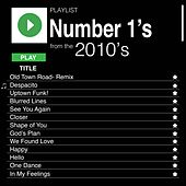 Number 1's from the 2010's de Various Artists