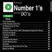 Number 1's from the 90's de Various Artists