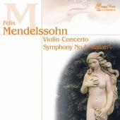 Felix Mendelssohn Bartholdy: Violin Concerto, Symphony No.4 : Italian by Various Artists