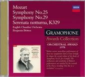 Mozart: Symphonies Nos.25 & 29; Serenata Notturna by Various Artists