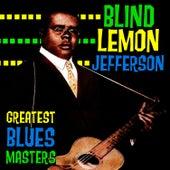Greatest Blues Masters by Blind Lemon Jefferson