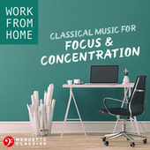 Work From Home: Classical Music for Focus & Concentration de Various Artists