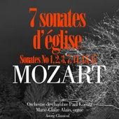 Mozart : 7 sonates d'église pour orchestre et orgue de Paul Kuentz