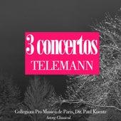 Telemann : 3 concertos de Paul Kuentz