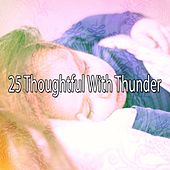 25 Thoughtful with Thunder by Rain Sounds and White Noise