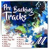 Pro Backing Tracks M Vol.25 by Pop Music Workshop