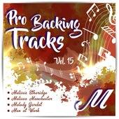 Pro Backing Tracks M, Vol.15 by Pop Music Workshop