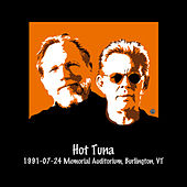 1991-07-24 Memorial Auditorium, Burlington, Vt by Hot Tuna