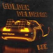 Golden Delorean by Lex
