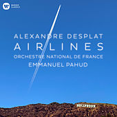 Airlines - The Grand Budapest Hotel by Emmanuel Pahud, Orchestre National de France, Alexandre Desplat