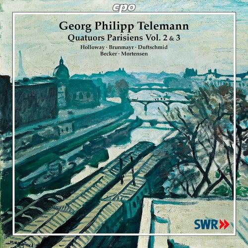 Telemann: Quatuors Parisiens, Vols. 2-3 by John Holloway