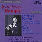 Benda:  Flute Concerto in E minor, Flute and Harpsichord Sonata, Flute Concerto in G major de Jean-Pierre Rampal