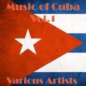 Music of Cuba Vol.1 de Various Artists