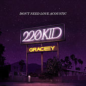 Don't Need Love (Acoustic) by 220 KID