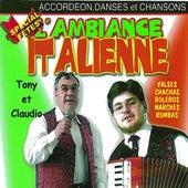 L'ambiance italienne spécial fête, vol. 1 (Accordéon, danses et chansons) by Various Artists