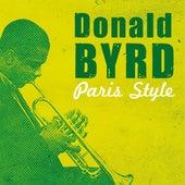 Paris Style de Donald Byrd