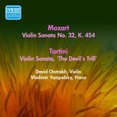 Mozart, W.A.: Violin Sonata No. 32, K. 454 / Tartini, G.: Violin Sonata,