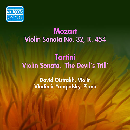 Mozart, W.A.: Violin Sonata No. 32, K. 454 / Tartini, G.: Violin Sonata, 'The Devil's Trill' (Oistrakh) (1956) by David Oistrakh