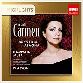 Bizet: Carmen (Highlights) von Michel Plasson