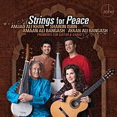 Strings for Peace - Premieres for Guitar and Sarod de Sharon Isbin, Amjad Ali Khan, Amaan Ali Bangash