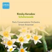 Rimsky-Korsakov, N.: Scheherazade (Ansermet) (1948) von Ernest Ansermet