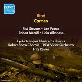 Bizet, G.: Carmen (Stevens, Peerce, Merrill, Reiner) (1951) de Licia Albanese