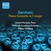 Gershwin, G.: Piano Concerto in F Major (Pennario, Steinberg) (1954) de Leonard Pennario