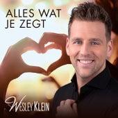 Alles Wat Je Zegt van Wesley Klein