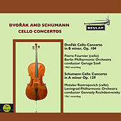 Dvořák and Schumann Cello Concertos by Pierre Fournier