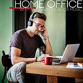 Home Office with Alternative Rock Music by Various Artists