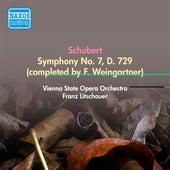 Schubert, F.: Symphony No. 7 (Arr. F. Weingartner From 1821 Sketches) (Vienna State Opera Orchestra, Litschauer) (1952) by Franz Litschauer