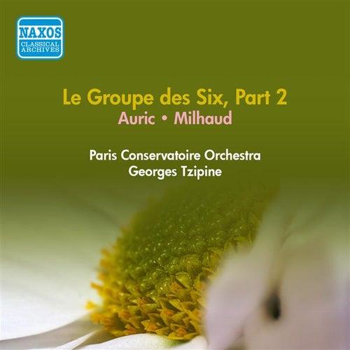 Groupe Des Six (Le), Part 2 - Auric, G. / Milhaud, D. (Paris Conservatoire, Tzipine) (1954) by Georges Tzipine