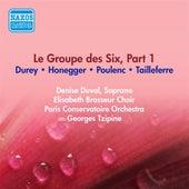 Group Des Six (Le), Part 1 - Tailleferre, G. / Honegger, A. / Poulenc, P. / Durey, L. (Paris Conservatoire, Tzipine) (1954) by Various Artists