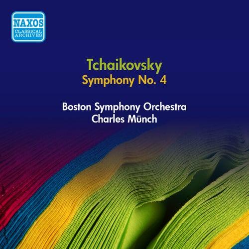 Tchaikovsky, P.: Symphony No. 4 (Boston Symphony, Munch) (1955) by Charles Munch
