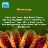 Schoenberg, A.: Gurre-Lieder (Lewis, Semser, Tangeman, Paris New Symphony Society, Leibowitz) (1953) by Richard Lewis
