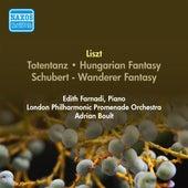 Liszt, F.: Totentanz / Hungarian Fantasy / Schubert - Wanderer Fantasy (Farnadi, London Philharmonic Promenade Orchestra, Boult) (1955-1956) by Adrian Boult